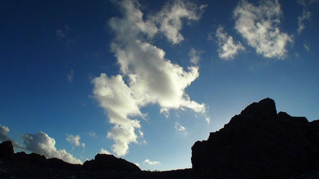 室戸岬の空