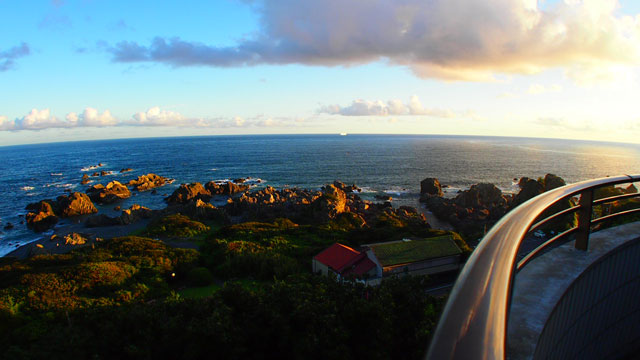 岬の展望台