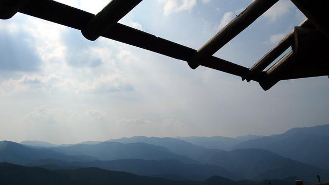 四国カルストからの眺め