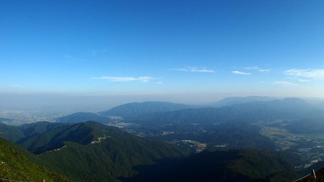 伊吹山から望む関ヶ原